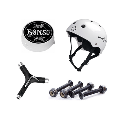 スケートパーツを展開するSK8ブランド