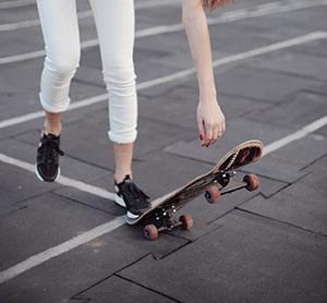 スケートスクール実施