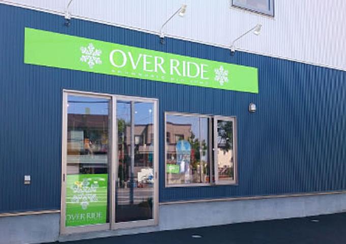 OVER RIDE(オーバーライド)