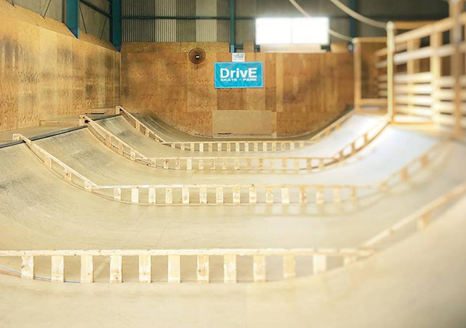 DrivE SKATE PARK(ドライブスケートパーク)